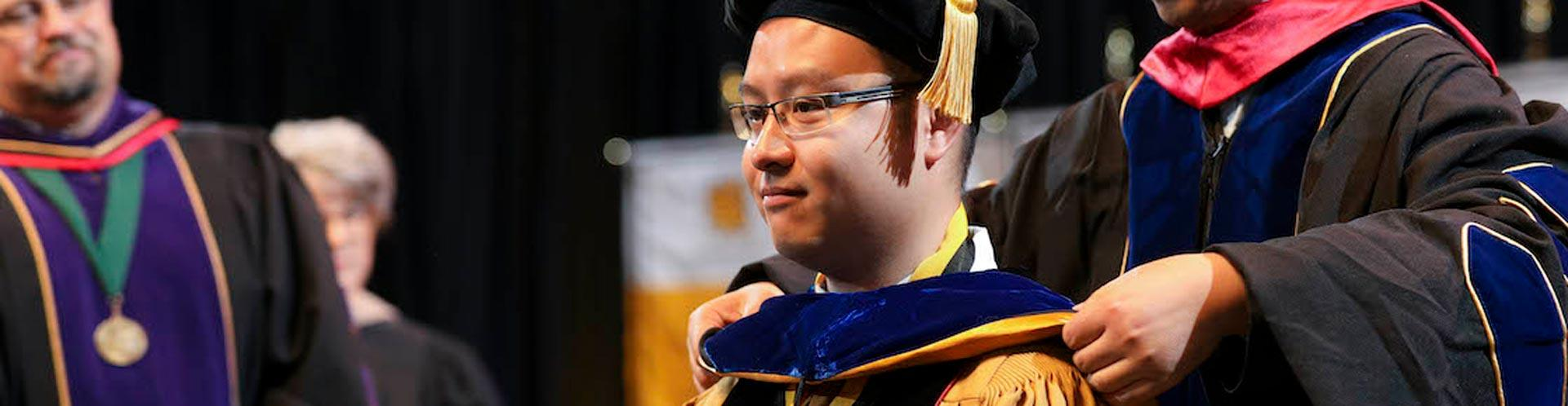 Linh Le Earns First PhD in Data Science