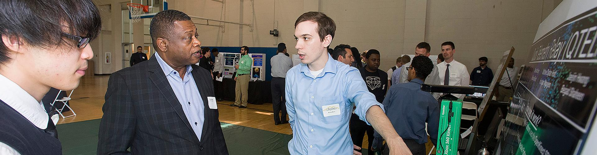 Industry professionals impressed by students' technology talent