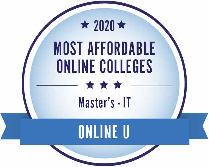 2020 Most Affordable Masters Information Technology Ranking