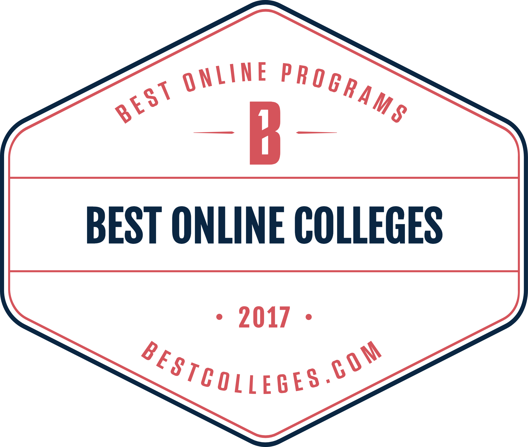 badge for bestcolleges.com ranking our online BSIT program number 15 for 2015