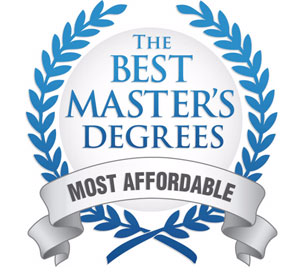 Best Masters Degree Badge