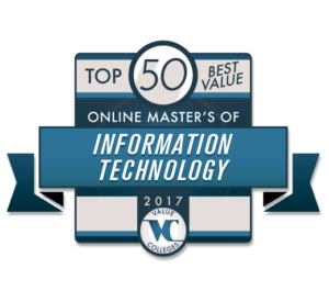 Top 50 Onlime Masters of IT